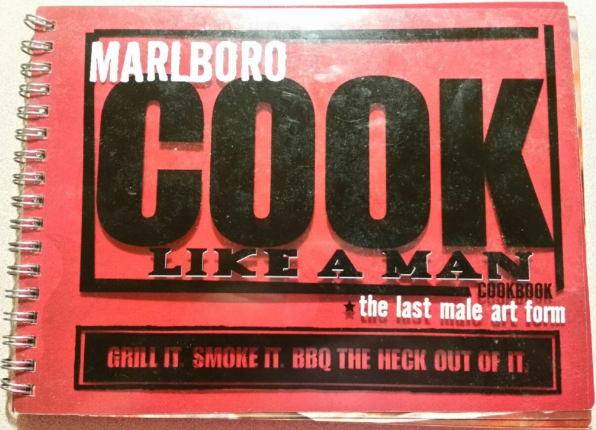 Marlboro Cook Like A Man Cookbook