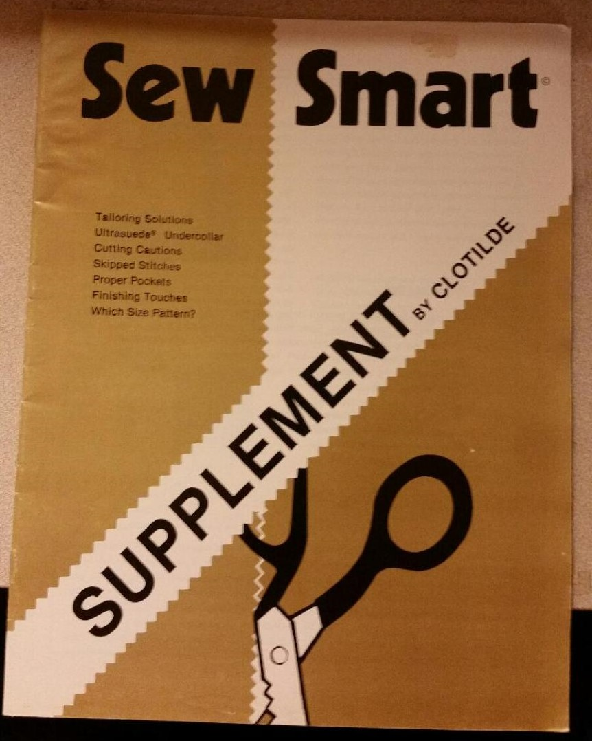 Sew Smart Supplement by Clotilde