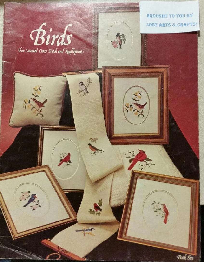 Birds for Counted Stitch and Needlepoint