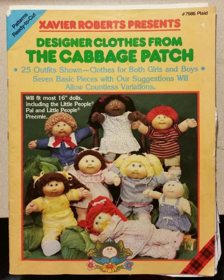 Xavier Roberts presents Designer Clothes from The Cabbage Patch