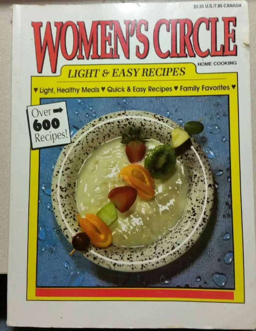 Women's Circle Light & Easy Recipes