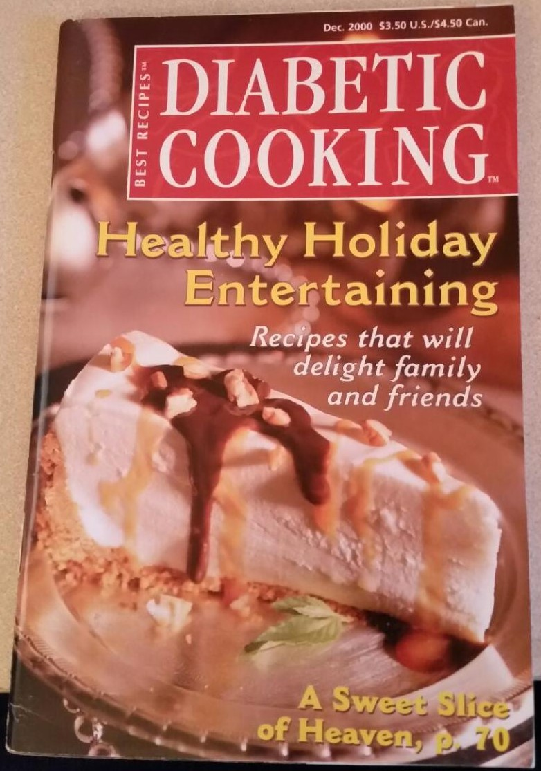 Diabetic Cooking Healthy Holiday Entertaining