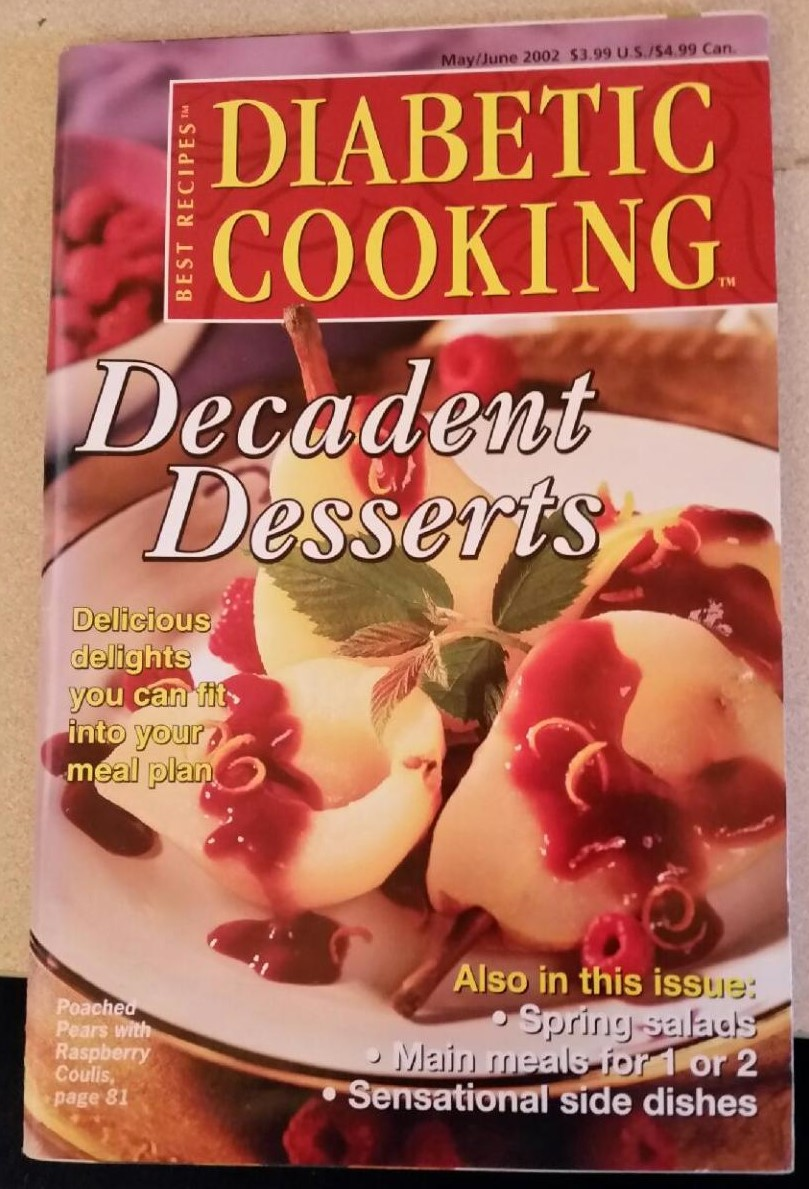 Diabetic Cooking Decadent Desserts