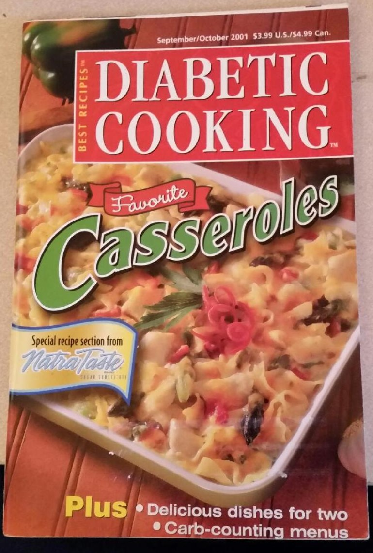 Diabetic Cooking Favorite Casseroles