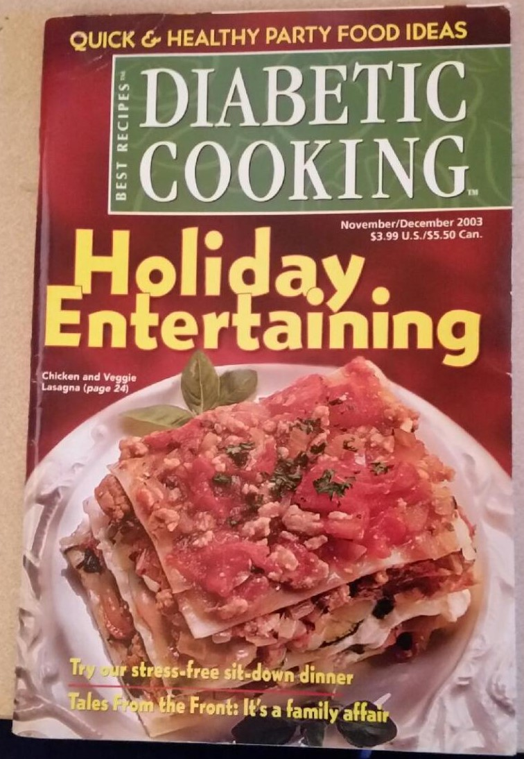 Diabetic Cooking Holiday Enteraining