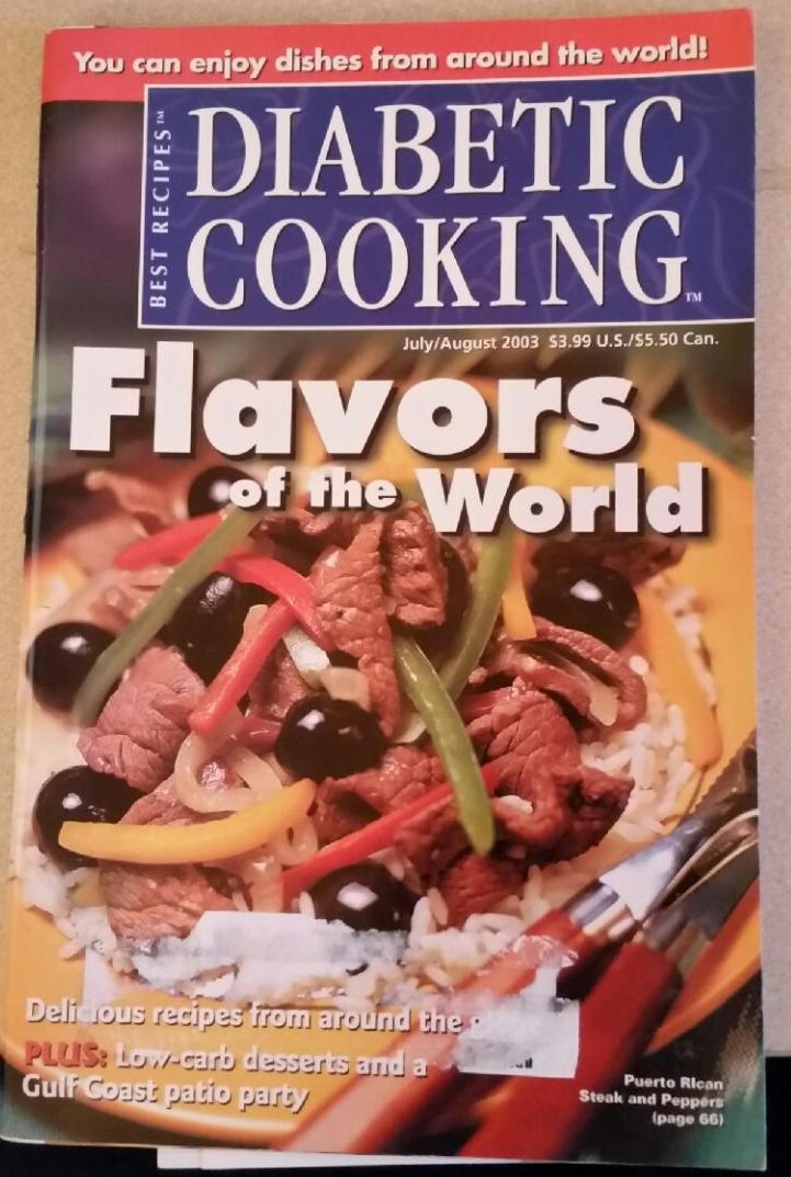 Diabetic Cooking Flavors of the World